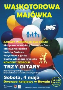 Plakat Majowka